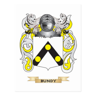 Bundy Coat of Arms (Family Crest) Postcards