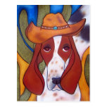 Bungalowart.com Desert Hound Postcard