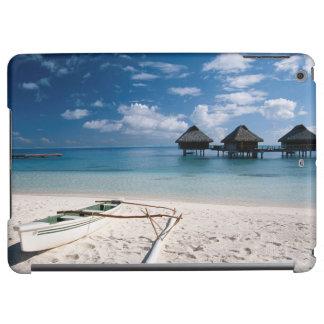 Bungalows from beach Motu Toopua iPad Air Cases