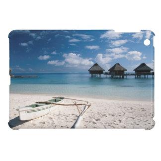 Bungalows from beach Motu Toopua iPad Mini Cases