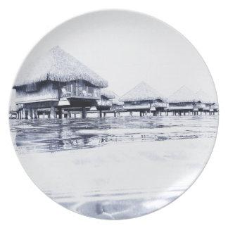 Bungalows Plates