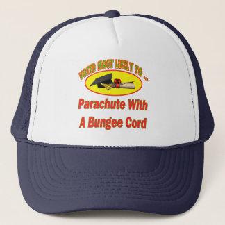 Bungee Cord Parachute Trucker Hat