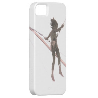 Bungee Jump Girl Abstract Art Photo Phone Case