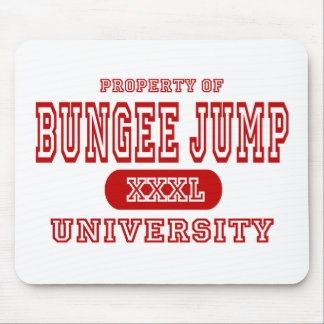Bungee Jump University Mouse Pad