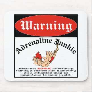 Bungee Jumper Adrenaline Junkie Mouse Pad