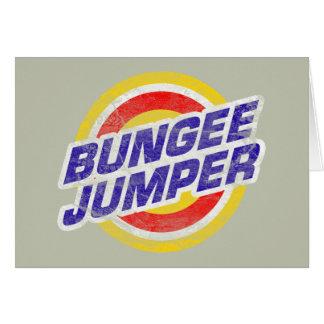 Bungee Jumper Card