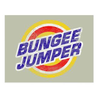 Bungee Jumper Postcard