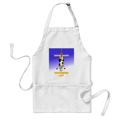 Bungee Jumpin' Wisconsin style Aprons