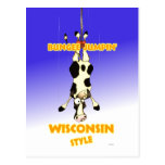 Bungee Jumpin' Wisconsin style Post Cards