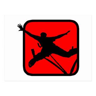 Bungee Jumping 3 Postcard