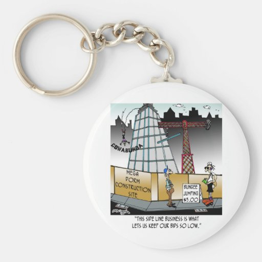 Bungee Jumping, $5.00 Key Chains