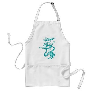 Bungee Jumping Adult Apron