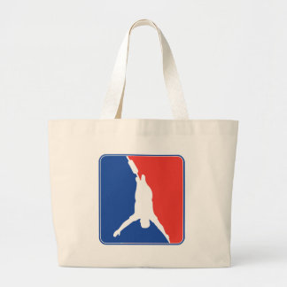Bungee Jumping Tote Bags