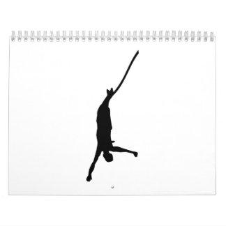 Bungee jumping calendar
