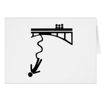 Bungee jumping card