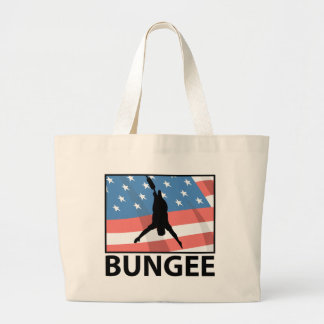 Bungee Jumping In America Canvas Bag