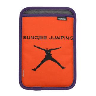 Bungee jumping iPad mini sleeve
