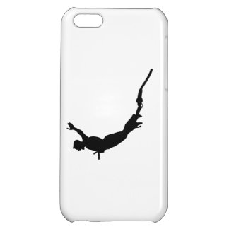 Bungee jumping iPhone 5C cover