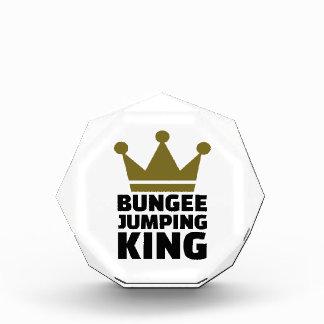 Bungee jumping king award