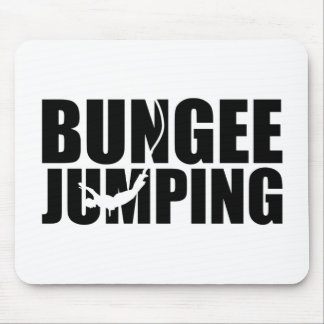 Bungee jumping mouse pad