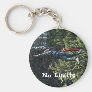 Bungee Jumping No Limits Keychain