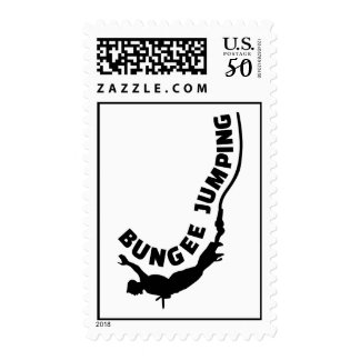 Bungee jumping postage