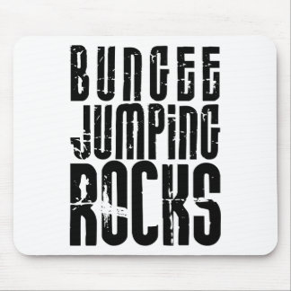Bungee Jumping Rocks Mouse Pad