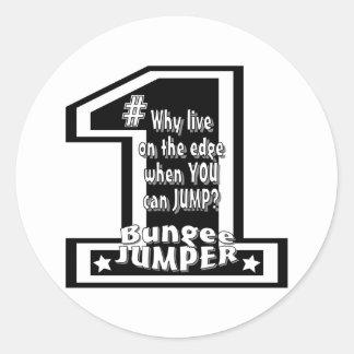 Bungee Team Classic Round Sticker