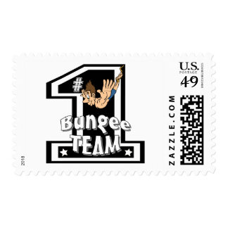 Bungee Team Postage Stamps
