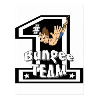 Bungee Team Postcard