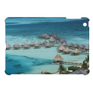 Bunglows of Beachcomber Hotel iPad Mini Covers