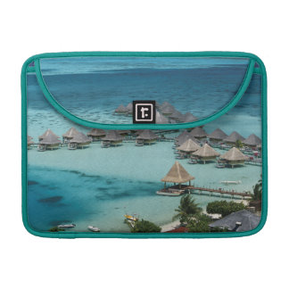 Bunglows of Beachcomber Hotel MacBook Pro Sleeve
