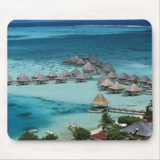 Bunglows of Beachcomber Hotel Mouse Pad