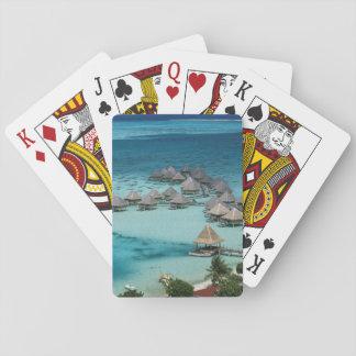 Bunglows of Beachcomber Hotel Poker Deck