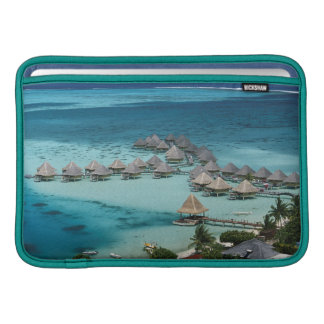 Bunglows of Beachcomber Hotel Sleeve For MacBook Air
