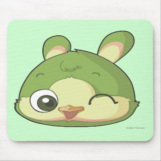 Bunirot cartoon character mousepad