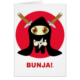 Bunja! Love!! Card