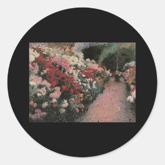 Bunker Chrysanthemums Stickers