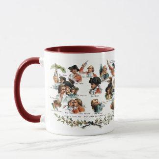 Bunker Hill Battle Portraits Mug