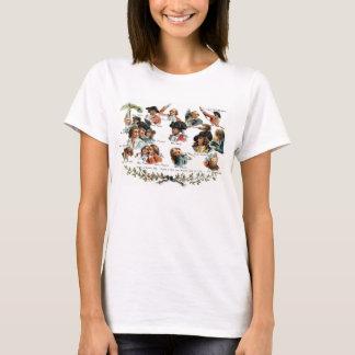 Bunker Hill Battle Portraits T-Shirt