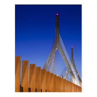 Bunker Hill Bridge, Boston, Massachusetts Postcard