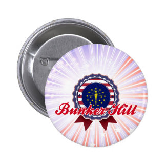 Bunker Hill, IN Pinback Buttons