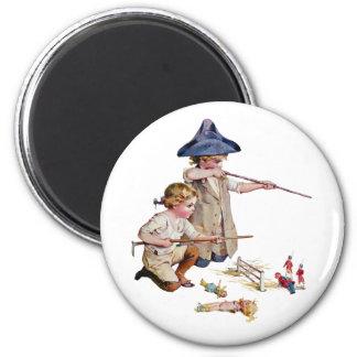 Bunker Hill Little Revolutionaries 2 Inch Round Magnet