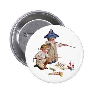 Bunker Hill Little Revolutionaries Pinback Button