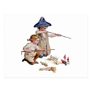 Bunker Hill Little Revolutionaries Postcard