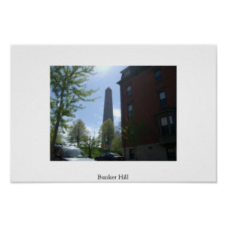 Bunker Hill Monument Posters