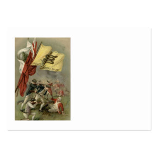 Bunker Hill revolucionario de la guerra de la Tarjetas De Visita Grandes