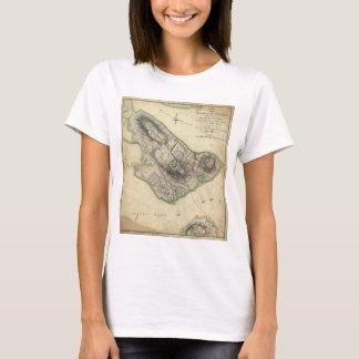 Bunker Hill Revolutionary War Map (June 17, 1775) T-Shirt
