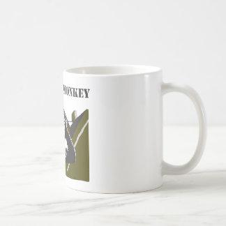 Bunker monkey. coffee mug