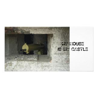 Bunker Photo Card